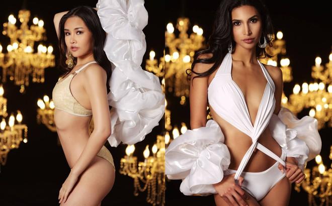 Lê Âu Ngân Anh cùng dàn thí sinh Miss Intercontinental khoe thân hình sexy với bikini