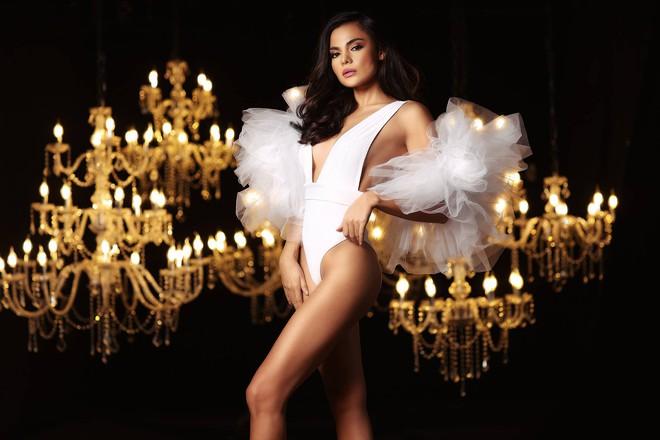 Lê Âu Ngân Anh cùng dàn thí sinh Miss Intercontinental khoe thân hình sexy với bikini - Ảnh 9.