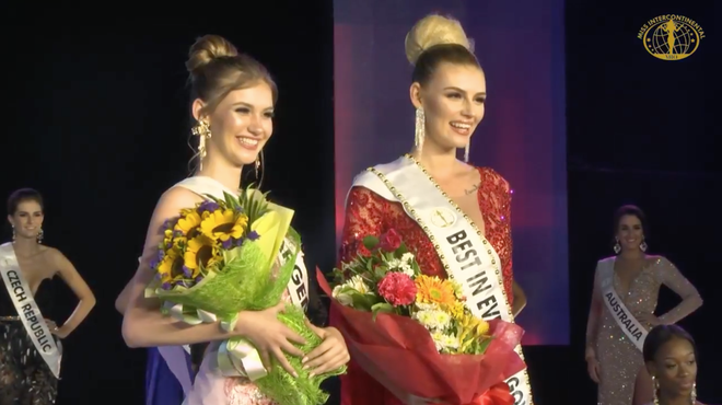 Ngân Anh tiếp tục thể hiện biểu cảm khó hiểu tại cuộc thi Miss Intercontinental - Ảnh 8.