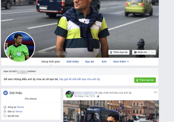 Nghĩ bị xử ép, CĐV Việt Nam tiếp tục dùng những từ ngữ thô tục với facebook trọng tài người Iran - Ảnh 1.