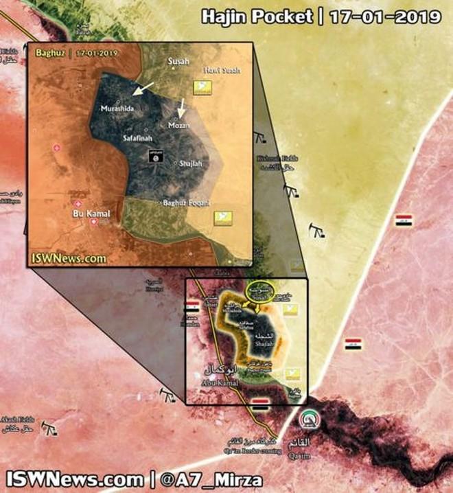Lực lượng Dân chủ Syria chiếm thị trấn cuối cùng ở Deir Ezzor, IS sụp đổ - Ảnh 1.