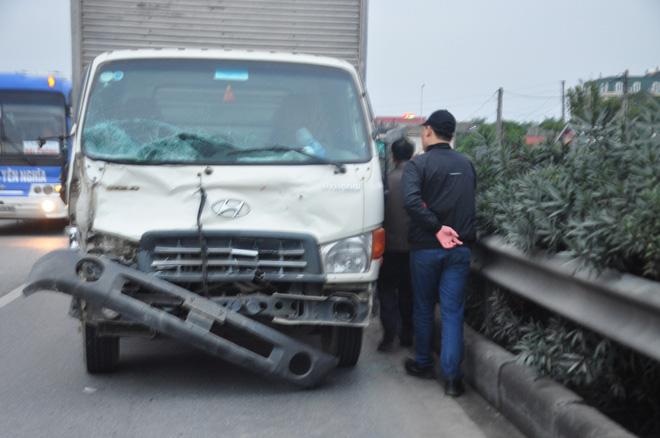 Tài xế lái xe tải đâm 8 cán bộ xã tử vong khai có ngủ gật và dùng ma tuý - Ảnh 2.