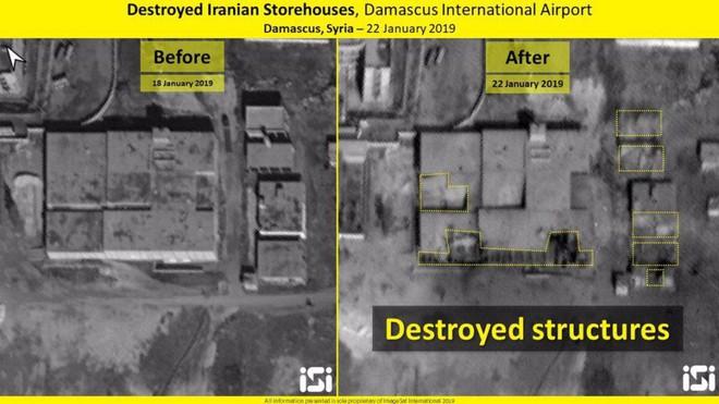 Lộ ảnh vệ tinh mới nhất vụ Israel tấn công Syria: Nhiều tổ hợp phòng không Syria tan nát - Ảnh 2.
