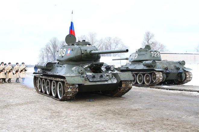 Quyết định bất ngờ: Nga biên chế 30 xe tăng T-34 Lào cho Sư đoàn bảo vệ trái tim Moscow - Ảnh 2.