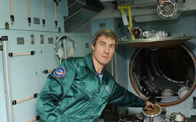 Phi hành gia Sergey Krikalev.