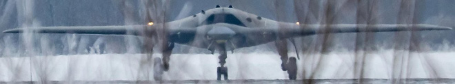 Kẻ săn mồi - Máy bay chiến đấu không người lái bí ẩn nhất của Nga lộ diện? - Ảnh 1.
