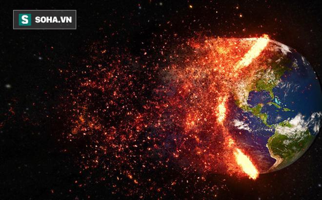 """Giả thuyết khó tin: Trái Đất đã từng """"nuốt chửng"""" một hành tinh khác"""