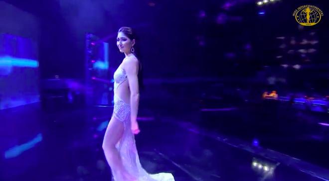 [Cập nhật] Chung kết Hoa hậu Liên lục địa 2018: Biểu cảm của Ngân Anh khi chính thức được gọi tên vào top 6 - Ảnh 10.