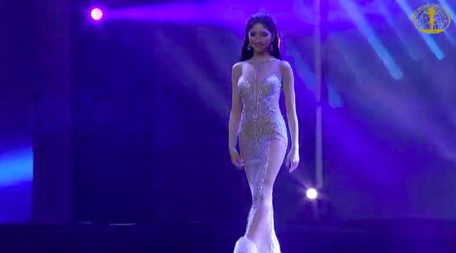 [Cập nhật] Chung kết Hoa hậu Liên lục địa 2018: Biểu cảm của Ngân Anh khi chính thức được gọi tên vào top 6 - Ảnh 9.