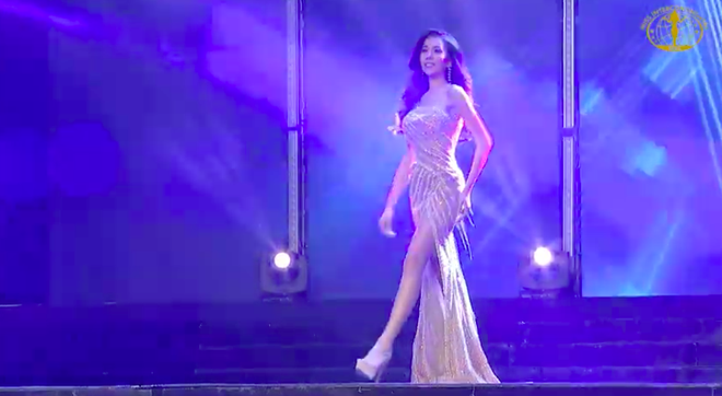 [Cập nhật] Chung kết Hoa hậu Liên lục địa 2018: Biểu cảm của Ngân Anh khi chính thức được gọi tên vào top 6 - Ảnh 13.