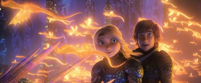 Phim hoạt hình chiếu Tết Bí kíp luyện rồng 3 nhận lời khen từ giới phê bình - Ảnh 2.