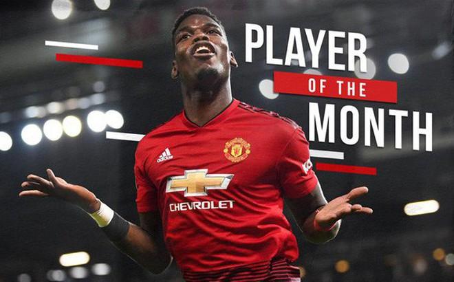 Paul Pogba xuất sắc nhất tháng 12: Sự trở lại của Quỷ đầu đàn