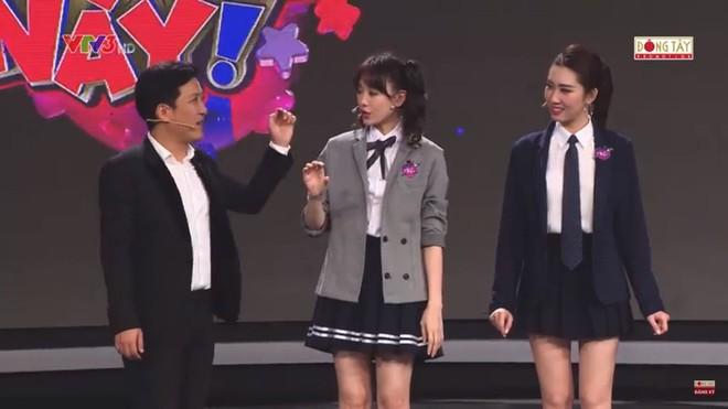 Được Trường Giang khen xinh xắn nhưng Hari Won chỉ cười trừ khi bị hỏi câu này - Ảnh 2.