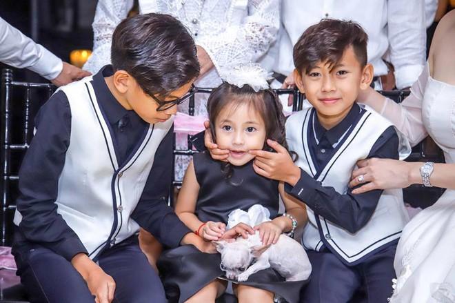 3 người con ruột của Hoa hậu Hà Kiều Anh và chồng đại gia có cuộc sống như thế nào? - Ảnh 7.