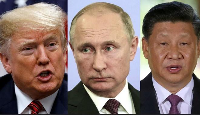 Mỹ - Trung đại chiến, gấu Nga ung dung hưởng lợi  - Ảnh 3.