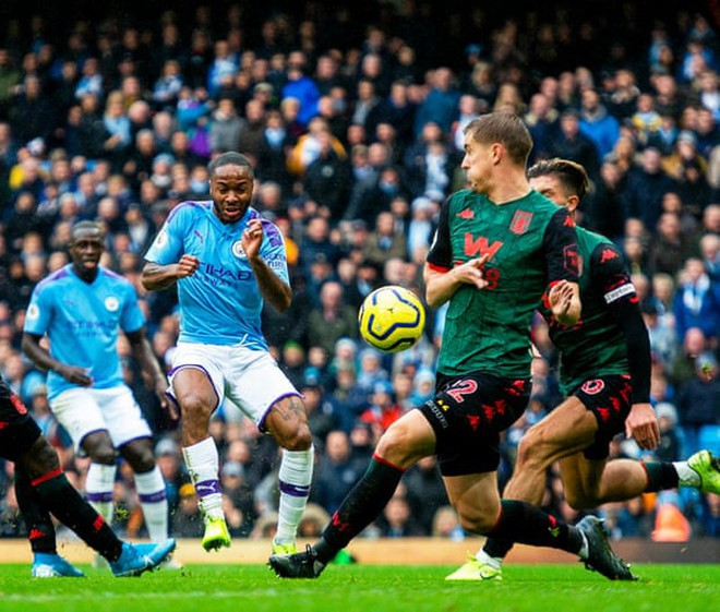 'Hủy diệt' Aston Villa trong hiệp 2, Man City áp sát Liverpool - Ảnh 2.
