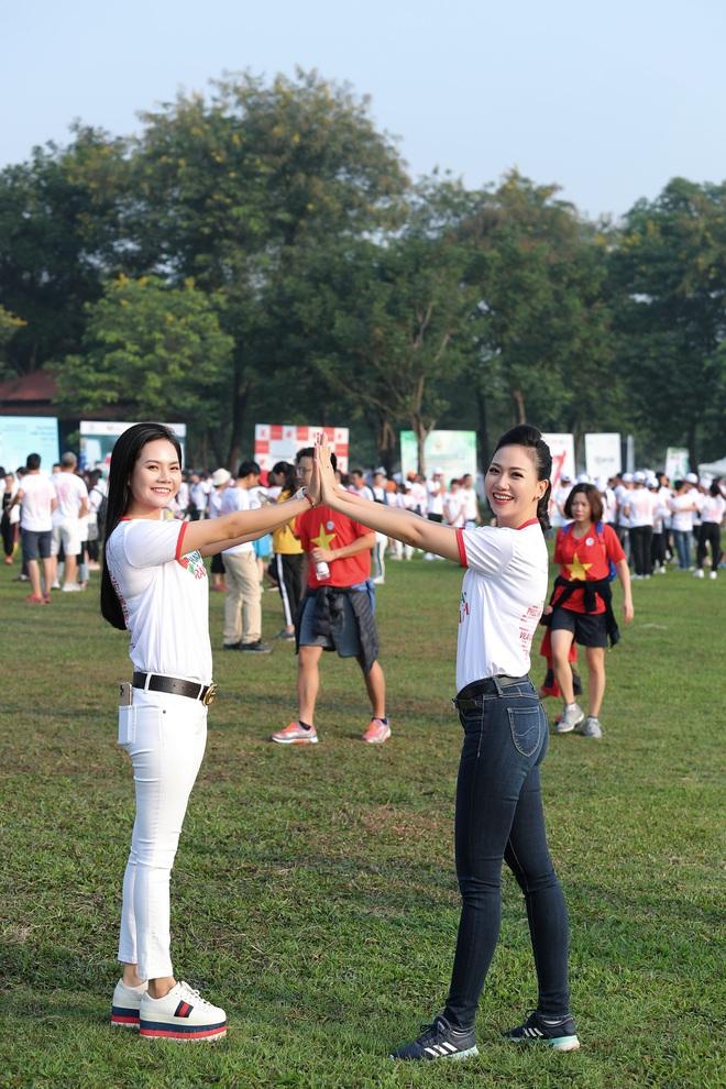 Ca sĩ Lương Nguyệt Anh và MC Mỹ Vân tham gia chạy bộ vì trẻ em bị bệnh tim - Ảnh 2.