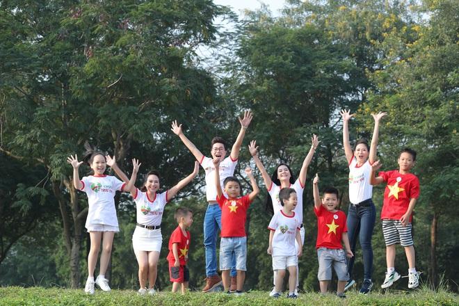 Ca sĩ Lương Nguyệt Anh và MC Mỹ Vân tham gia chạy bộ vì trẻ em bị bệnh tim - Ảnh 3.