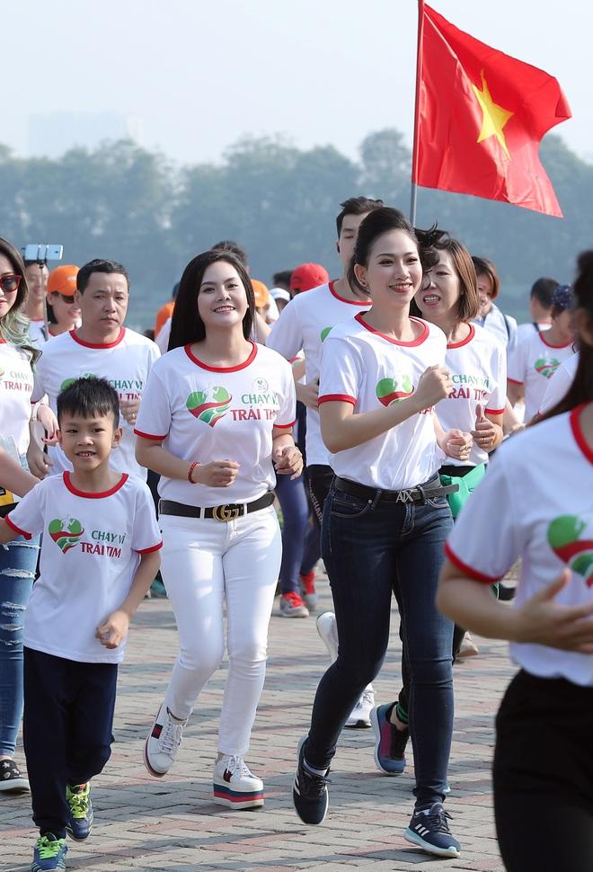 Ca sĩ Lương Nguyệt Anh và MC Mỹ Vân tham gia chạy bộ vì trẻ em bị bệnh tim - Ảnh 5.
