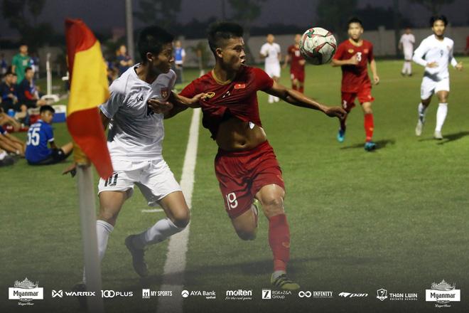 U22 Việt Nam đá kín, chật vật hòa đối thủ nhiều duyên nợ tại SEA Games - Ảnh 7.