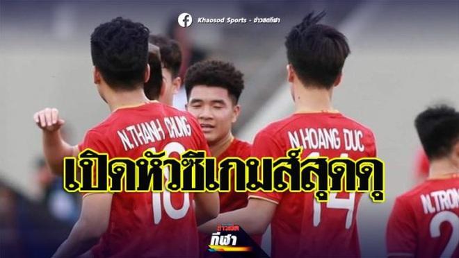 """Báo Thái Lan: """"Hàng công của U22 Việt Nam có sức công phá ghê gớm"""" - Ảnh 1."""