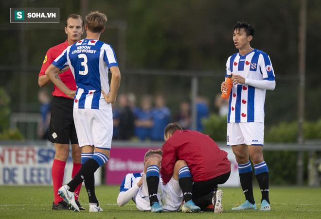 Văn Hậu nhận tin vui từ Heerenveen, xóa tan nỗi buồn thua trận - Ảnh 1.