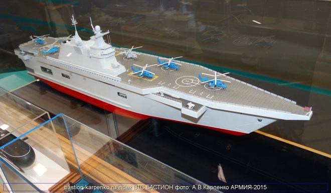 Bị TQ vượt, Nga nóng mặt ra lệnh khẩn: Đóng tàu đổ bộ trực thăng Priboy luôn và ngay - Ảnh 1.