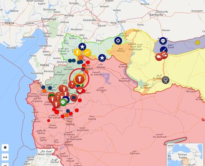 CẬP NHẬT: Giữa lúc QĐ Syria thương vong lớn, bệnh viện bay IL-76 Nga rời Khmeimim - Đêm nay có thể đánh rất lớn - Ảnh 10.