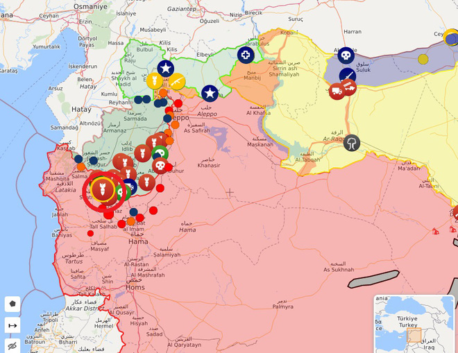CẬP NHẬT: Giữa lúc QĐ Syria thương vong lớn, bệnh viện bay IL-76 Nga rời Khmeimim - Đêm nay có thể đánh rất lớn - Ảnh 7.