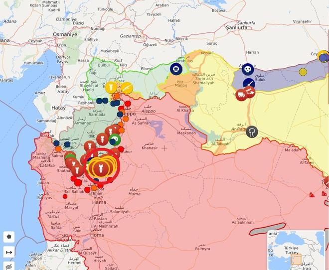 CẬP NHẬT: Giữa lúc QĐ Syria thương vong lớn, bệnh viện bay IL-76 Nga rời Khmeimim - Đêm nay có thể đánh rất lớn - Ảnh 6.