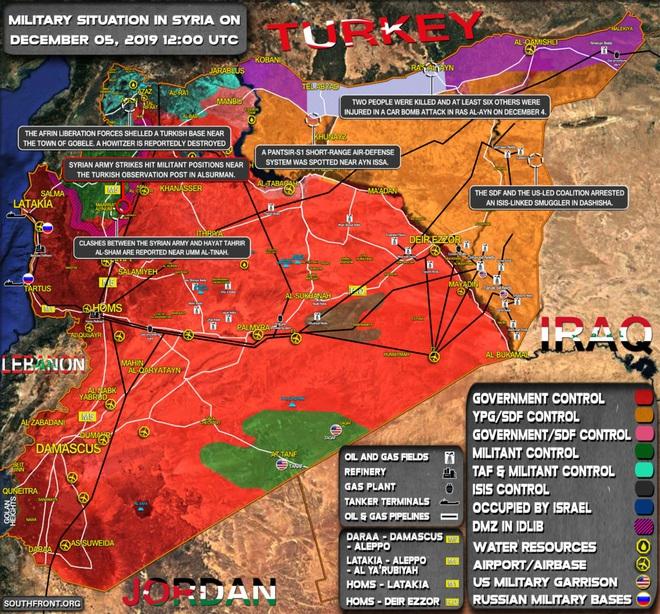 CẬP NHẬT: Giữa lúc QĐ Syria thương vong lớn, bệnh viện bay IL-76 Nga rời Khmeimim - Đêm nay có thể đánh rất lớn - Ảnh 1.