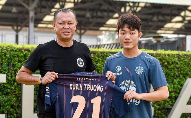 Chính thức ra mắt Buriram, Xuân Trường mang áo số 21, lĩnh lương tốp đầu Thai League