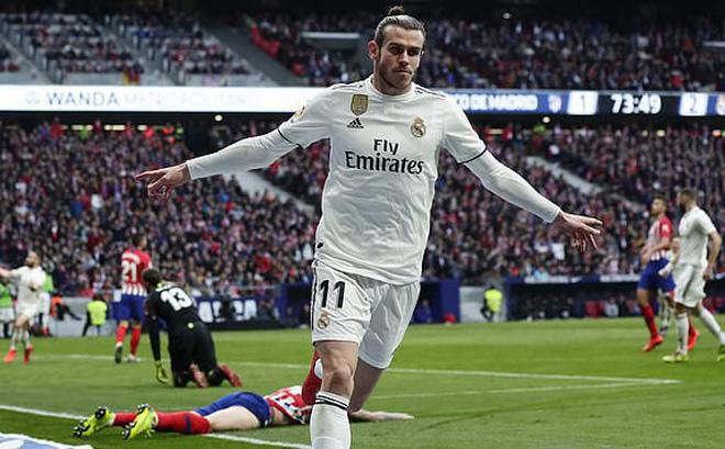 """Gareth Bale ghi bàn thứ 100, Real Madrid vượt qua kình địch để """"bén gót"""" Barcelona"""