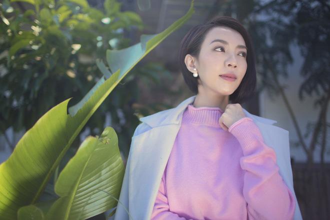 Hoa hậu hài Thu Trang khoe vẻ gợi cảm, mặn mà dịp đầu năm - Ảnh 12.