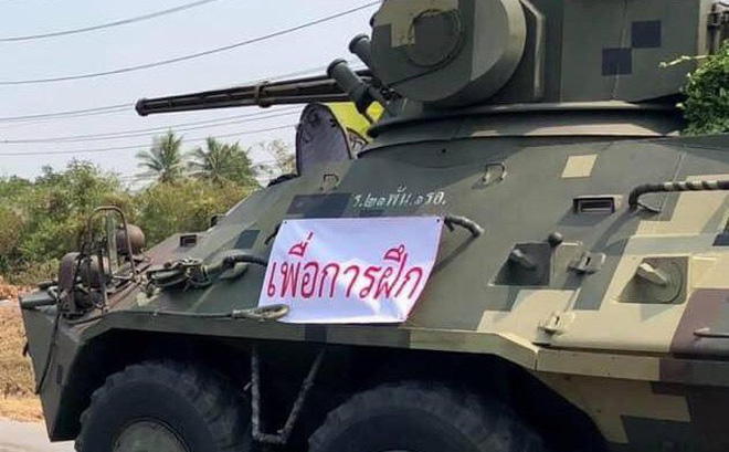 """Tướng quân đội Thái Lan: Thông tin quân đội chuẩn bị đảo chính là """"bịa đặt"""""""
