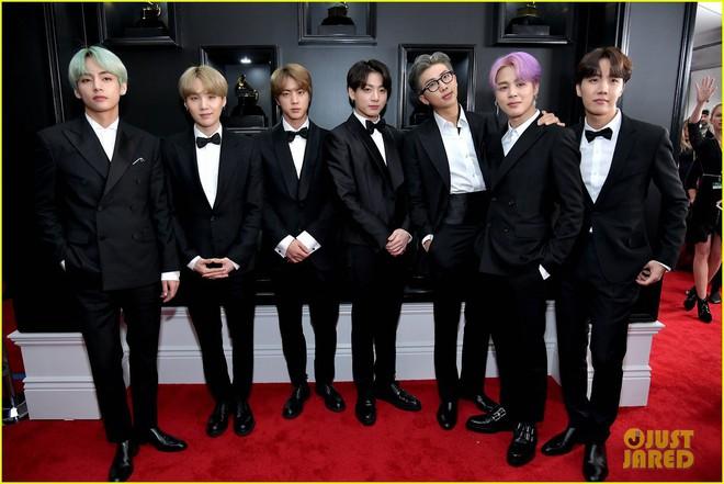 Thảm đỏ Grammy 2019: BTS, Lay (EXO) lung linh bên dàn sao Âu Mỹ - ảnh 2