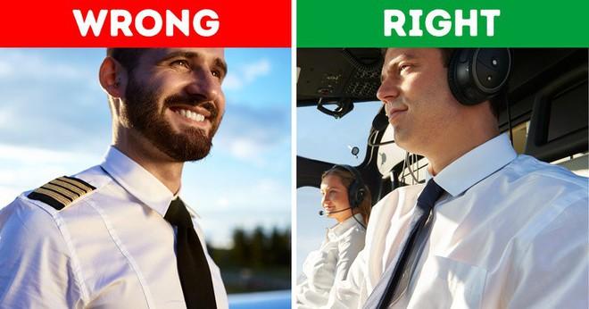 Tại sao cửa máy bay ở bên trái; phi công không được để râu? Câu trả lời rất bất ngờ! - ảnh 1