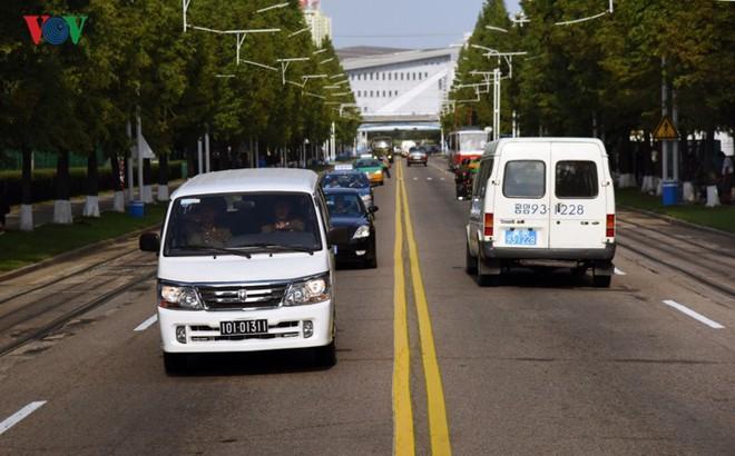 Ngỡ ngàng với mạng lưới giao thông đồng bộ ở Bình Nhưỡng (Triều Tiên)