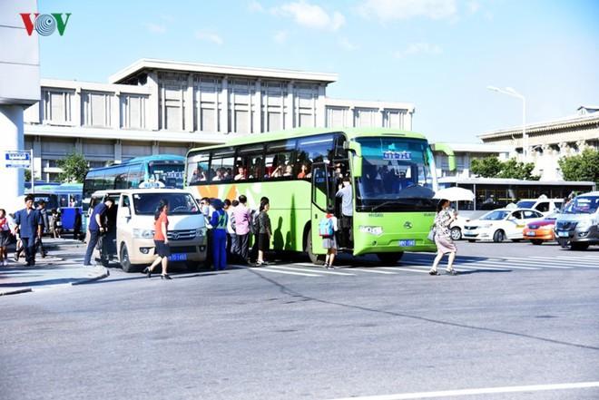 Ngỡ ngàng với mạng lưới giao thông đồng bộ ở Bình Nhưỡng (Triều Tiên) - Ảnh 18.