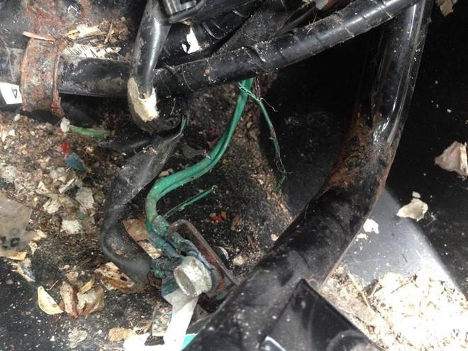Mang xe máy đi sửa, người đàn ông hoảng hốt khi thấy những món đồ bị mất bỗng xuất hiện - Ảnh 4.