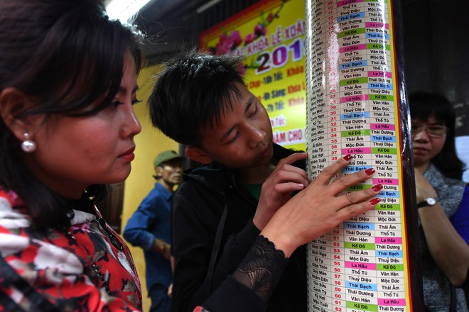 Hàng nghìn người chen chân dâng sớ cúng giải hạn sao La Hầu tại chùa Phúc Khánh - ảnh 2