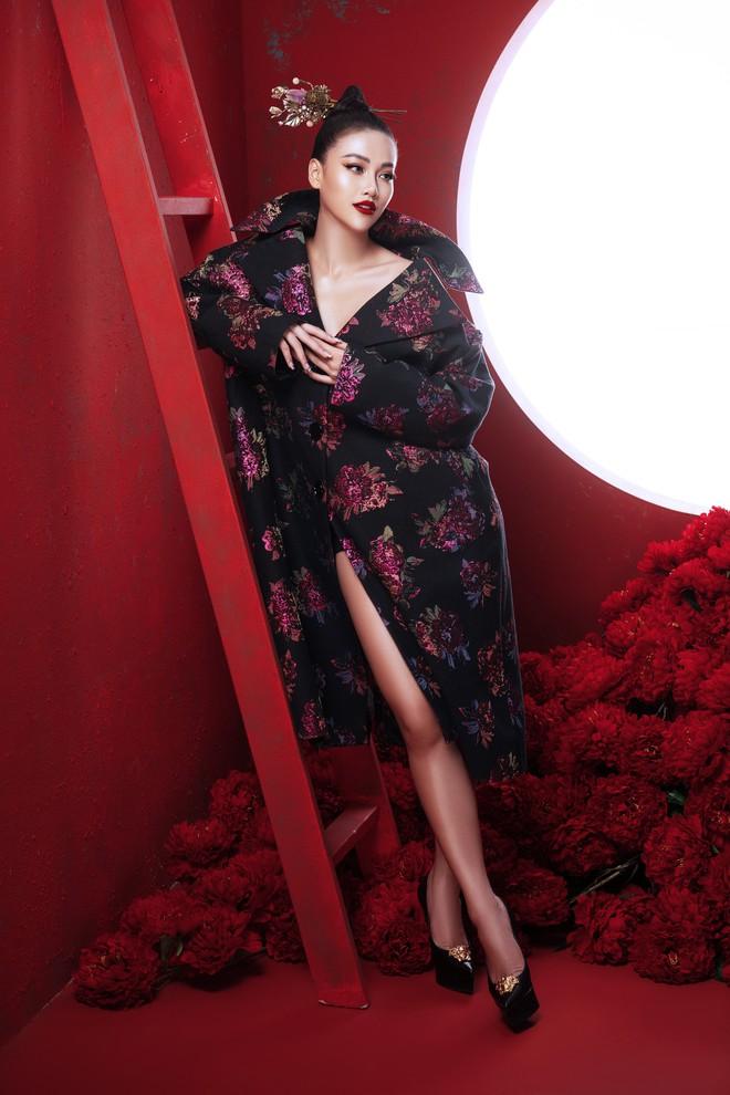 Hoa hậu Trái đất Phương Khánh khoe vai trần quyến rũ - ảnh 9