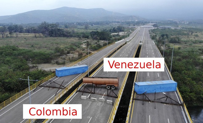 Cây cầu chưa từng hoạt động nói lên một sự thật khác về vụ TT Maduro chặn hàng viện trợ? - Ảnh 2.
