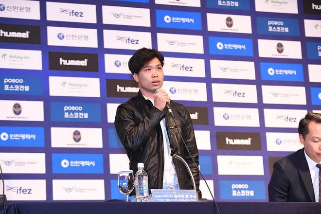 Công Phượng trả lời đầy bất ngờ sau câu hỏi khó của phóng viên Hàn Quốc - Ảnh 1.