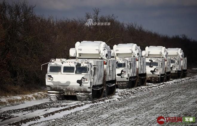 Quái thú Tor-M2DT của Hạm đội Phương Bắc Nga thị uy tại Bắc Cực - ảnh 7