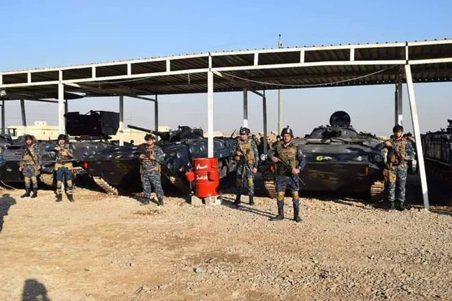 Đáng gờm dàn vũ khí cực mạnh của Cảnh sát Syria - ảnh 2