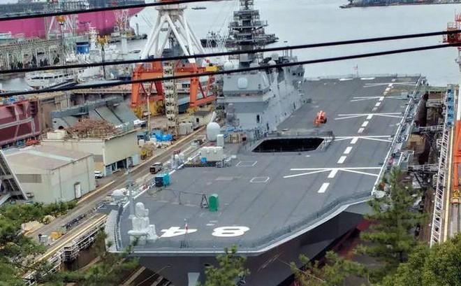 Nhật hoán cải Izumo thành tàu sân bay mang siêu vũ khí, Trung Quốc đối mặt với ác mộng