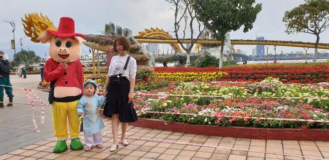 Cầu Vàng đọ dáng cầu Rồng ở đường hoa bên bờ sông Hàn  - Ảnh 9.