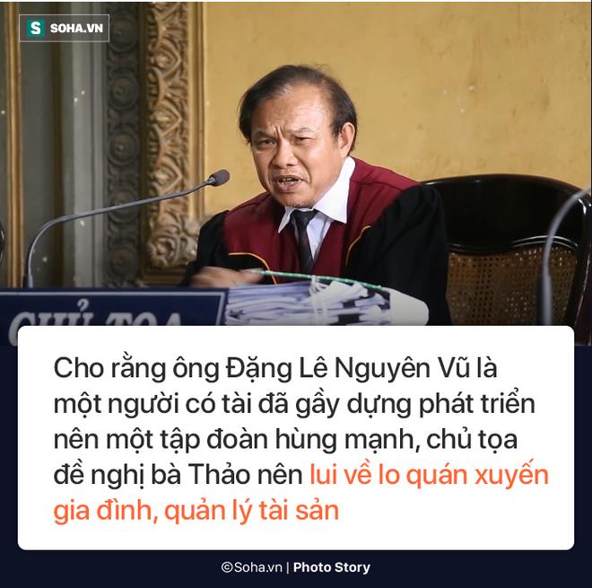 [Photostory] Chủ tọa nhắn bà Lê Hoàng Diệp Thảo: Chị về xin lỗi chồng... chị lại sống như bà hoàng - Ảnh 2.