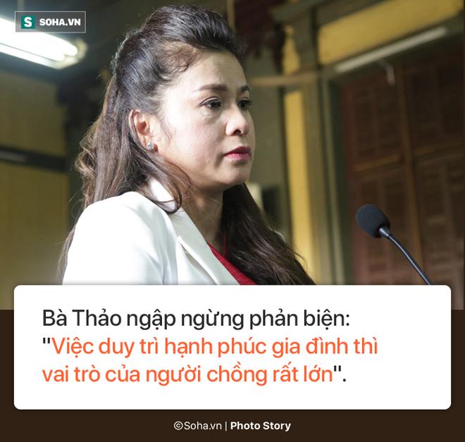 [Photostory] Chủ tọa nhắn bà Lê Hoàng Diệp Thảo: Chị về xin lỗi chồng... chị lại sống như bà hoàng - Ảnh 3.